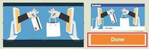 Cara Menggabungkan Gambar Profil Facebook dan Foto Sampul di Facebook 10
