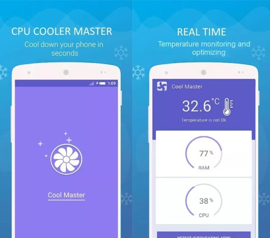10 Aplikasi Pendingin Suhu Android Terbaik 2018 13