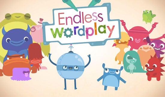 Endless Alphabet - super why, Games untuk anak anak, Games Seru, Games iPhone, Games, fireflies, angry bird - 10 Games iPhone Paling Seru untuk Anak-anak