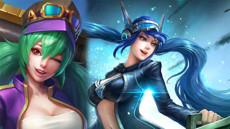Layla - Yun Zahao Mobile Legends, Moskov Mobile Legends, Mobile Legends, Miya Mobile Legends, Layla Mobile Legends, Karina Mobile Legends, Freaya Mobile Legends, Fanny Mobile Legends, Eudora Mobile Legends, cyclops Mobile Legends, Alucard Mobile Legends - 10 Hero Mobile Legends yang Paling Sering Menang