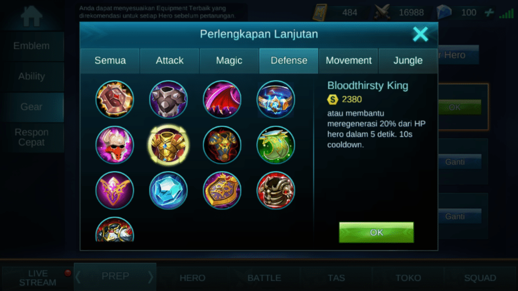 Screenshot 20170613 124130 - Yun Zahao Mobile Legends, Moskov Mobile Legends, Mobile Legends, Miya Mobile Legends, Layla Mobile Legends, Karina Mobile Legends, Freaya Mobile Legends, Fanny Mobile Legends, Eudora Mobile Legends, cyclops Mobile Legends, Alucard Mobile Legends - 10 Hero Mobile Legends yang Paling Sering Menang