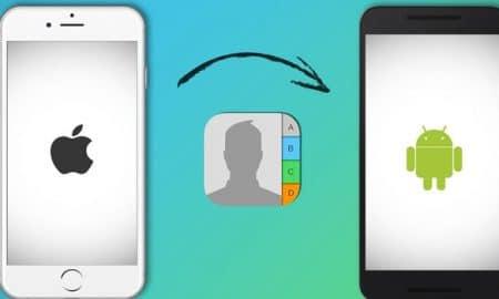 Cara Memindahkan Nomor Kontak iPhone ke Android 13