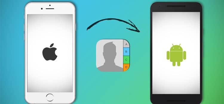 Cara Memindahkan Nomor Kontak iPhone ke Android 9