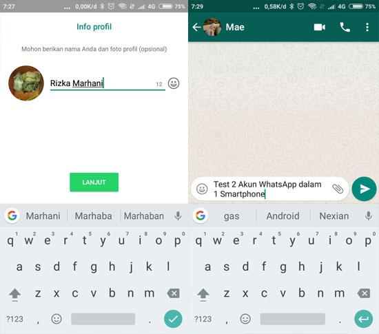 Cara Menggunakan 2 Akun WhatsApp dalam 1 Smartphone 12
