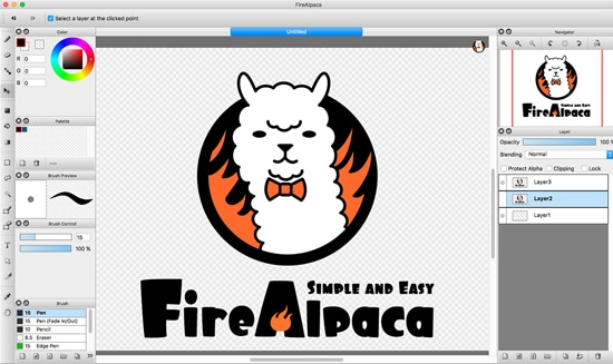Software Firealpaca