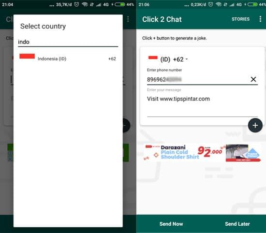Cara Kirim Pesan WhatsApp Tanpa Menyimpan Nomor Kontak 12