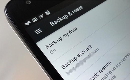 backup - Tips smartphone android, Tips Android, Hal yang tidak boleh dilakukan pada android, Android - 10 Hal yang Tidak Boleh Dilakukan pada Smartphone Android