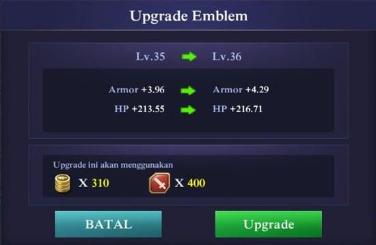 Upgrade Emblem