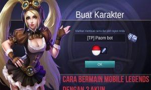 Cara Bermain Mobile Legends dengan 2 Akun atau Lebih 7