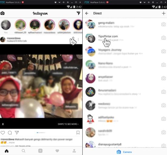 Cara Kirim DM Instagram di PC (Cara Termudah Sejauh Ini) 20