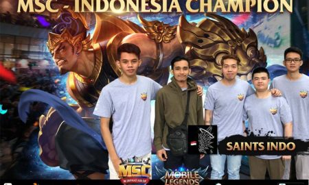Saints Indo 450x270 - Saints Indo, Mobile Legends, Juara 1 Mobile Legends, Futured, featured, Build Item Saints Indo, build item - Build Item yang Digunakan Saints Indo Juara 1 Mobile Legends Indonesia