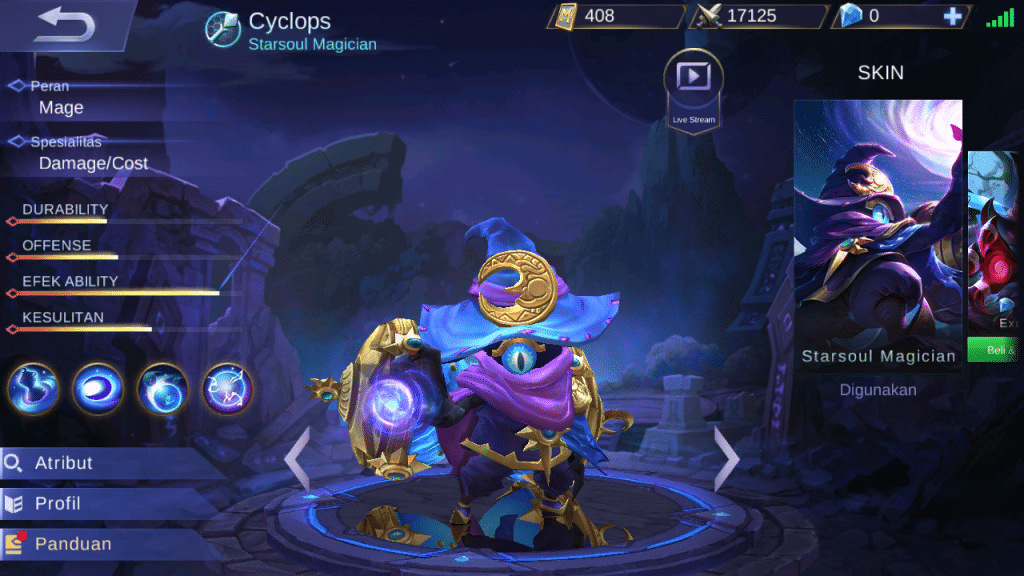 Build Cyclops Mobile Legends Set Emblem Dan Cara Menggunakannya