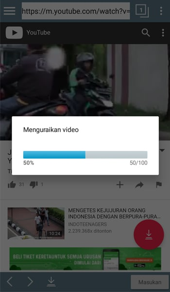 Cara Cepat Download Video YouTube di Android 8