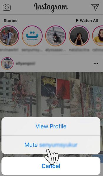 Cara Menyembunyikan Instastory Orang Lain di Instagram 11