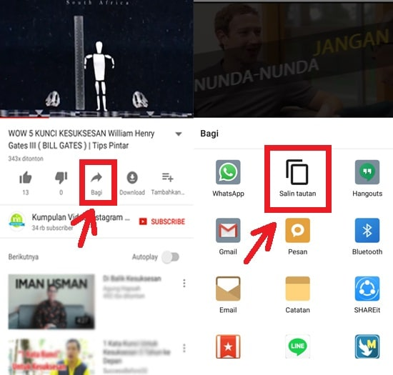 Cara Cepat Download Video YouTube di Android 12