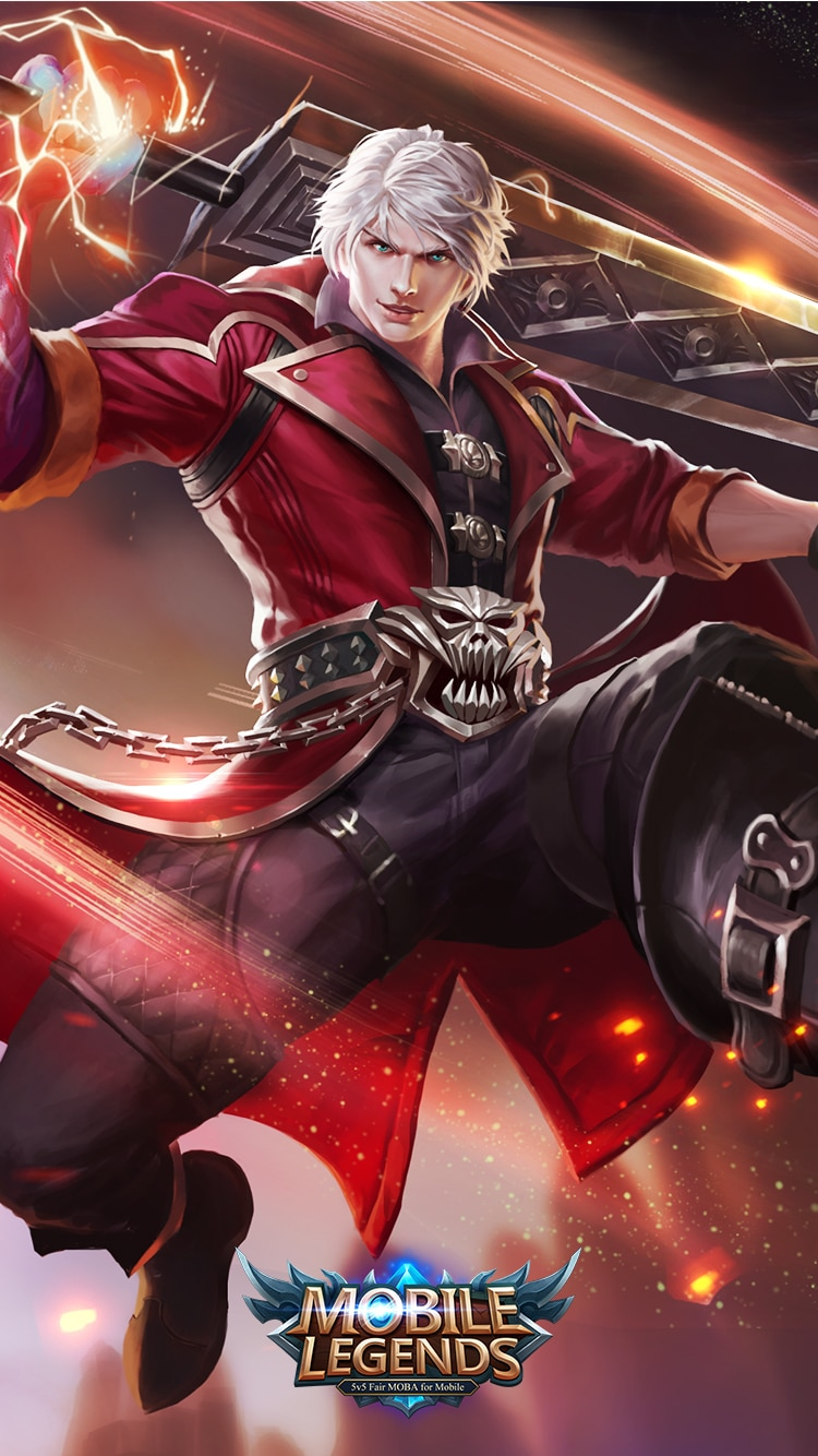 Alucard Demon Hunter - Wallpaper Mobile Legends