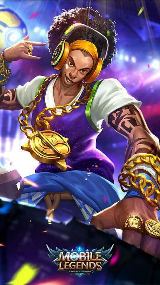 Wallpaper Bruno Mobile Legends - Bruno The Best DJ