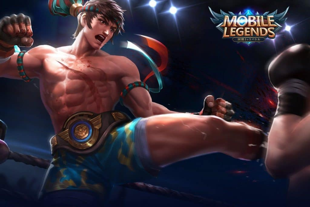 Wallpaper Mobile Legends Chou