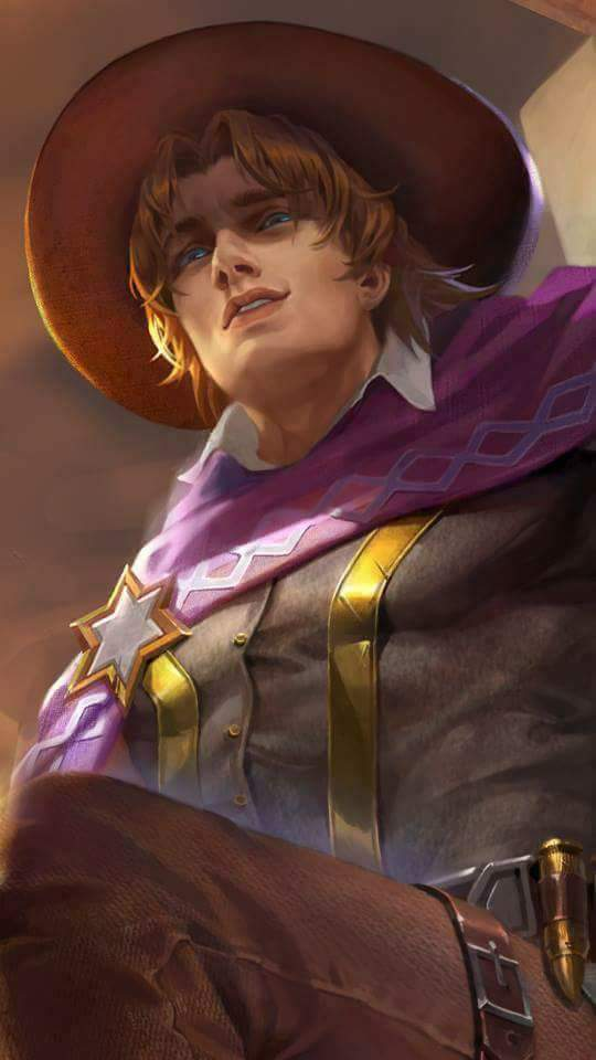 Clint Wallpaper Mobile Legends