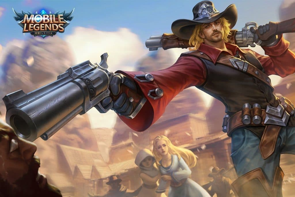 Clint Wallpaper Mobile Legends - Wasteland Drifter