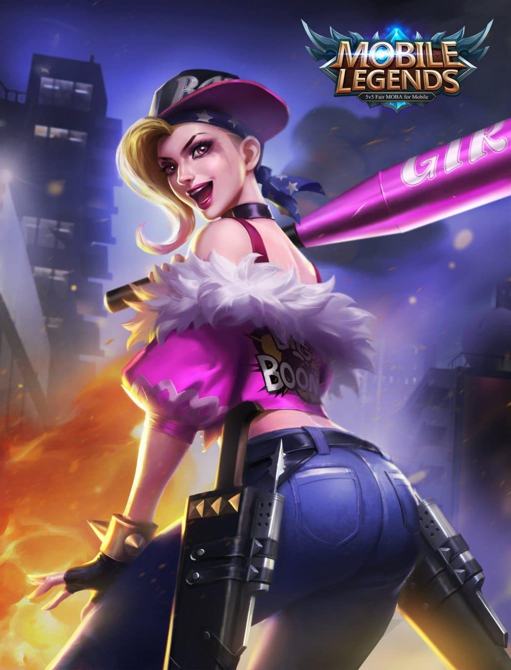 Wallpaper Mobile Legends Fanny