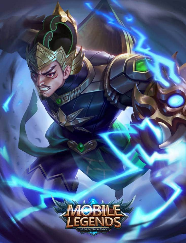 Wallpaper Mobile Legends Gatotkaca