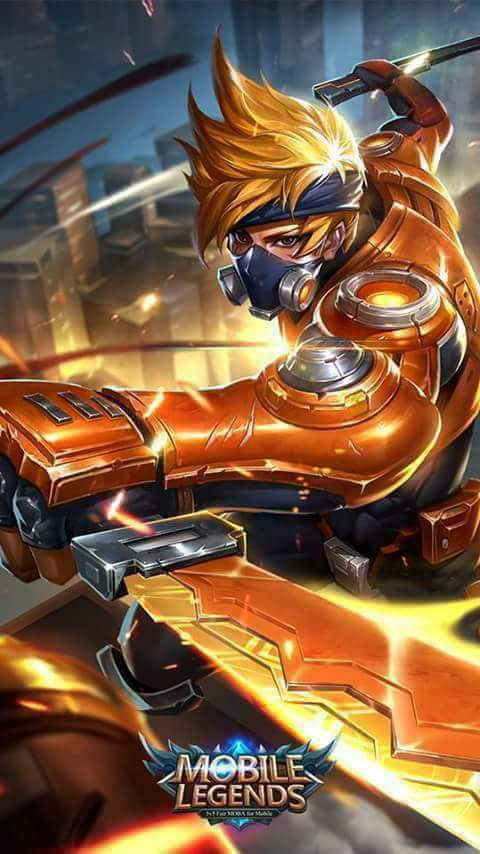 Wallpaper Mobile Legends Hayabusa