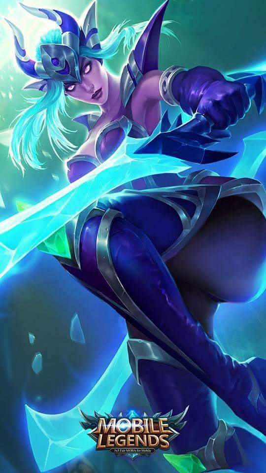 Wallpaper Mobile Legends Karina
