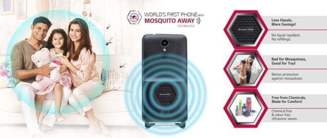 Unik, Ada Smartphone Pengusir Nyamuk 8