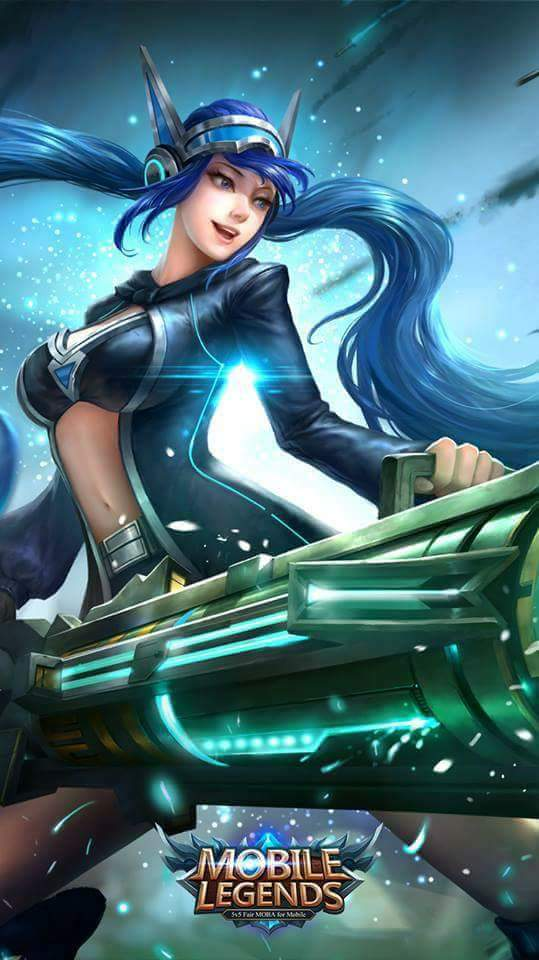 Wallpaper Layla Mobile Legends