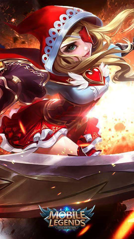 Wallpaper Mobile Legends Ruby
