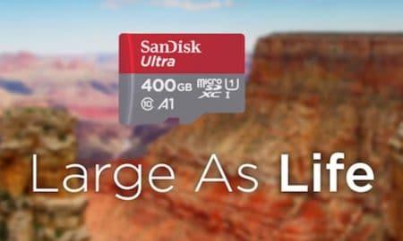 MicroSD 400 GB Milik SanDisk Resmi ke Indonesia, Harganya ? 14