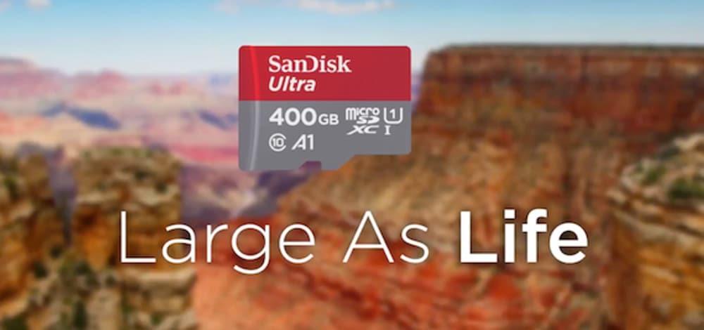 MicroSD 400 GB Milik SanDisk Resmi ke Indonesia, Harganya ? 5