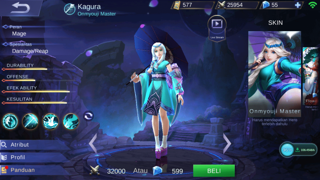 Build Kagura Mobile Legends, Set Emblem dan Guide Terbaiknya 6