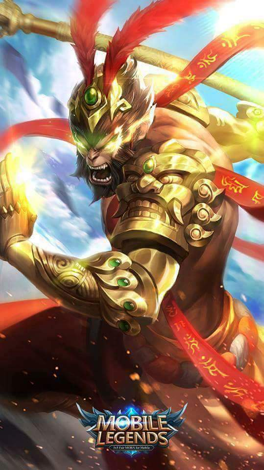 Wallpaper Mobile Legends Sun