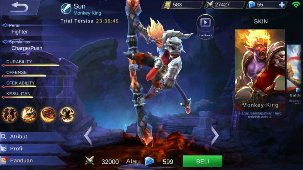 WhatsApp Image 2017 09 14 at 14.51.28 4 - Tank Damage, Sun Mobile Legends, Mobile Legends, Kelemahan Sun, Jungle Damage, Item Terbaik Sun, Hero Sun, featured, Attack Damage - Tips Menggunakan Sun di Mobile Legends + Build Item Terbaik