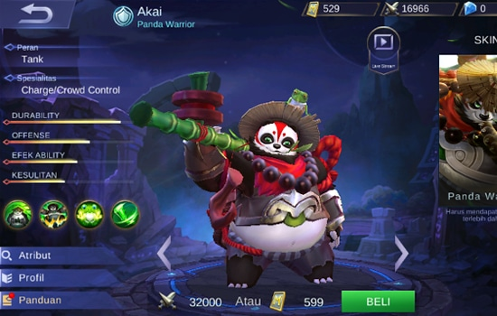 Build Akai Mobile Legends, Set Emblem dan Guide Terbaiknya 6