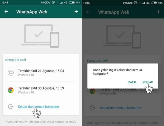 Cara Mengetahui Apakah Whatsapp Kita Disadap atau Dibajak beserta Cara Mengatasinya