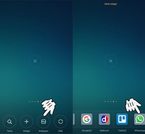 Widget Smartphone