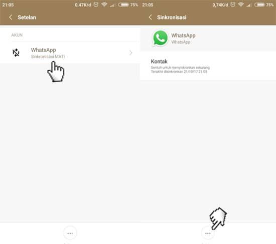 Sinkronisasi Aplikasi WhatsApp