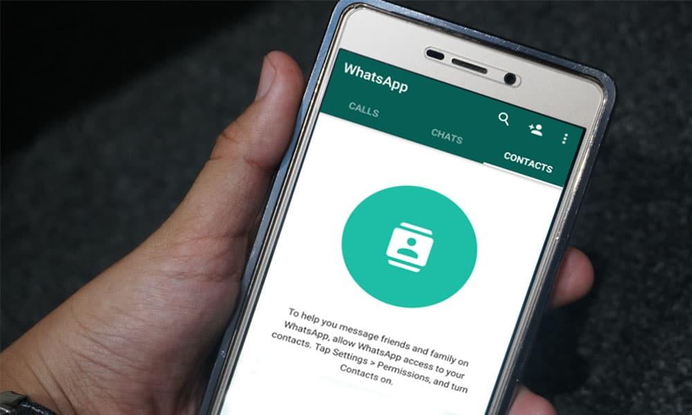 Cara Mengatasi Kontak WhatsApp yang Hilang