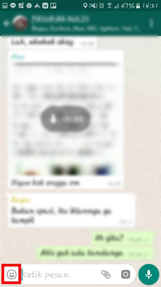 Cara Membuat dan Kirim Gambar GIF di WhatsApp 9