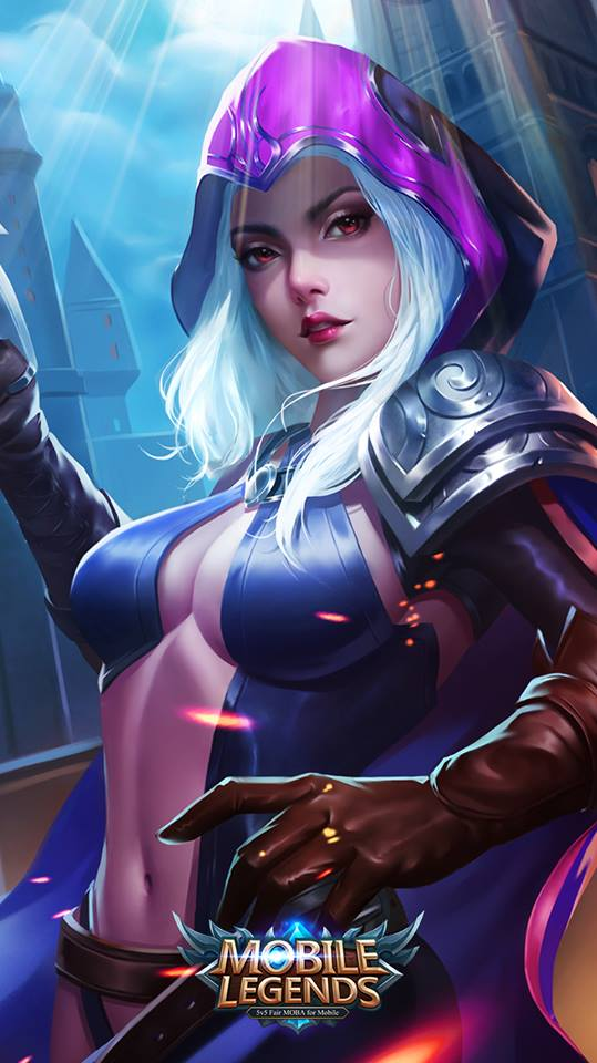 Wallpaper Mobile Legends Natalia