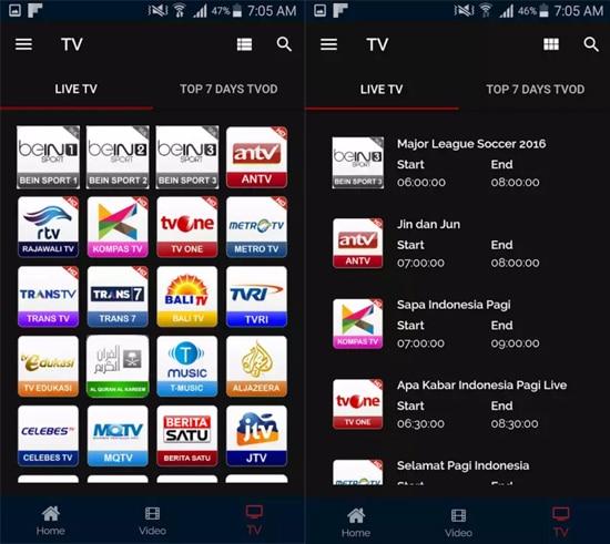 Aplikasi UseeTV GO