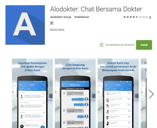 5 Aplikasi Tanya Jawab dengan Dokter Terbaik di Android 9