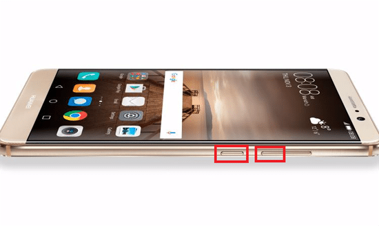 Cara Screenshot di Smartphone Huawei