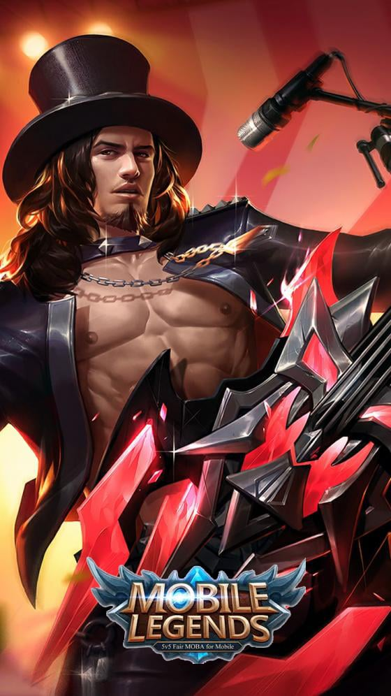 Wallpaper Mobile Legends Clint