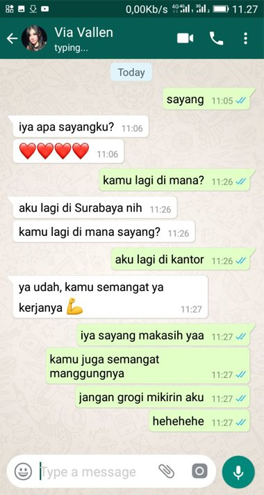 Cara Membuat Fake Chat (Chat Palsu) di WhatsApp 12