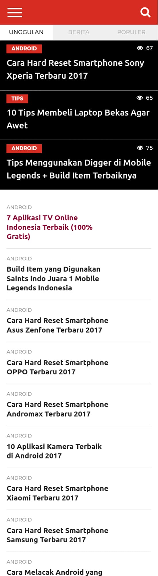 Hasil Scroll Capture for Web
