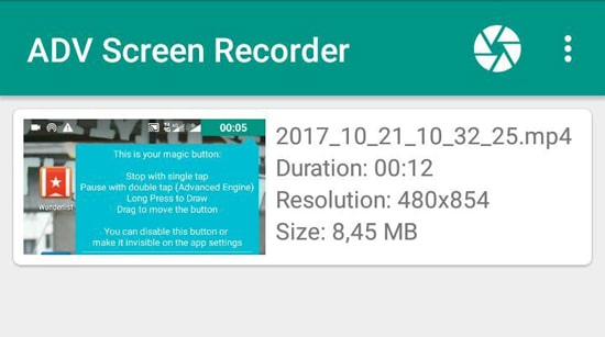 Hasil Screen Recorder Kamu